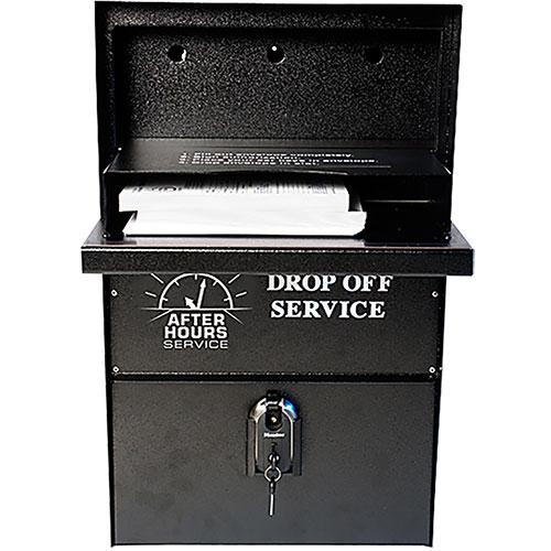 Night Drop Box Wall Mount Car Key Drop Box Auto
