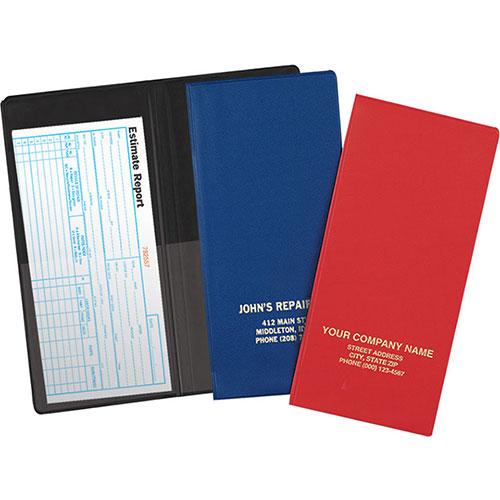 """Vinyl Pocket Folder - 4 1/2"""" x 9 1/2"""""""