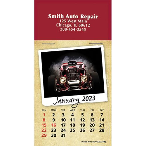 Calendar Self Stick Full Color Pad