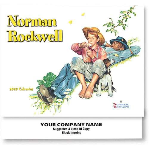 Full-Color Calendars - Normal Rockwell