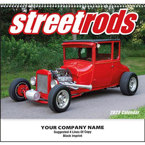 Wall Calendar Spiral - Street Rods