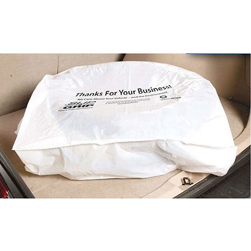 Plastic Tire Bags