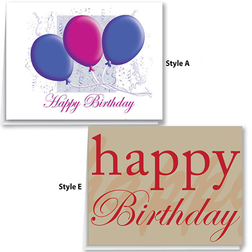 Auto Dealership Birthday Cards