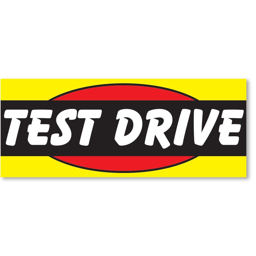 Test Drive Frontline Windshield Banner
