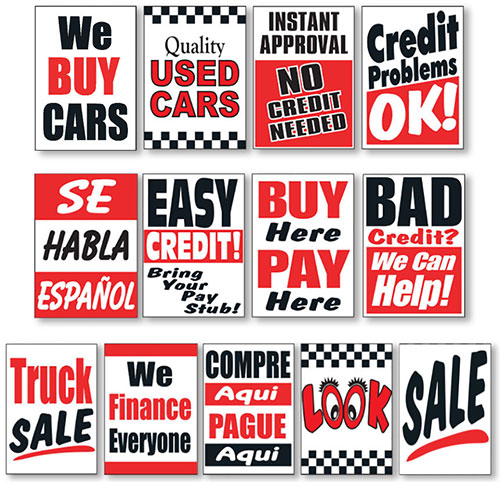 Buy here pay here car lot business plan