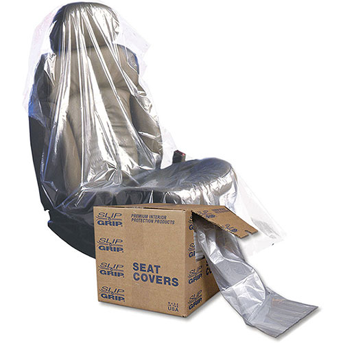 Slip-N-Grip® Plastic Seat Protectors (1 Box = 250)