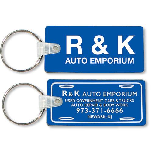 Econo Auto Sales >> Two-Sided Custom Soft Vinyl Key Tags | Auto Dealer Key Tags