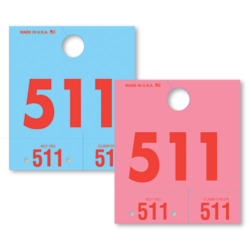 Colored Dispatch Service Tags