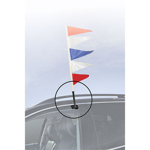 Adapter Staff/Clip for Antenna Pennants