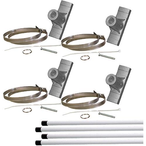 Double Pole Banner Bracket Kit