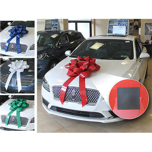 """28"""" Big Gift Car Bow with Magnet"""