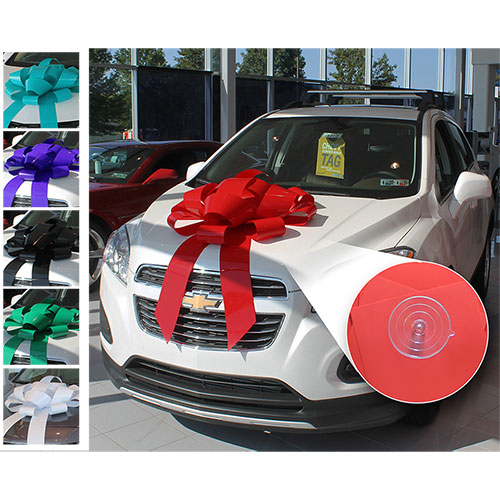 "30"" Giant Car Bow with Suction Cup"