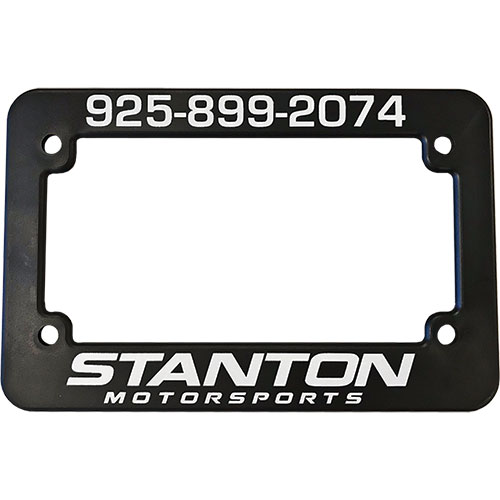Personalized 1 Color Motorcycle Frames