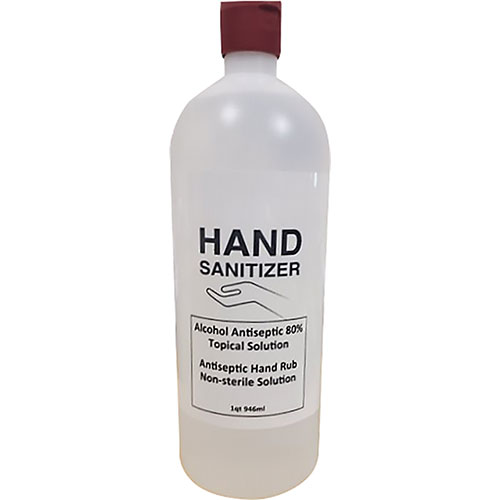 Liquid Form Hand Sanitizer 32 oz. Bottle