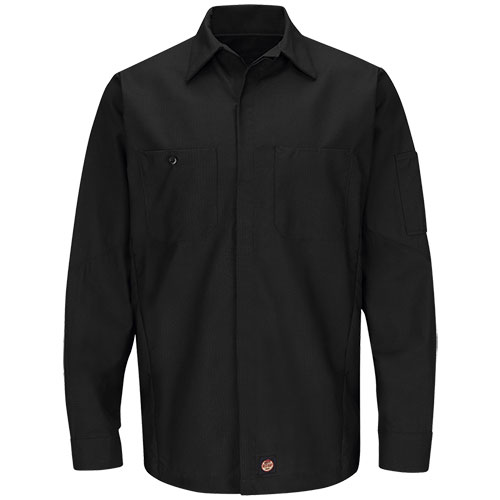 Redkap Work Shirt LS Solid Crew
