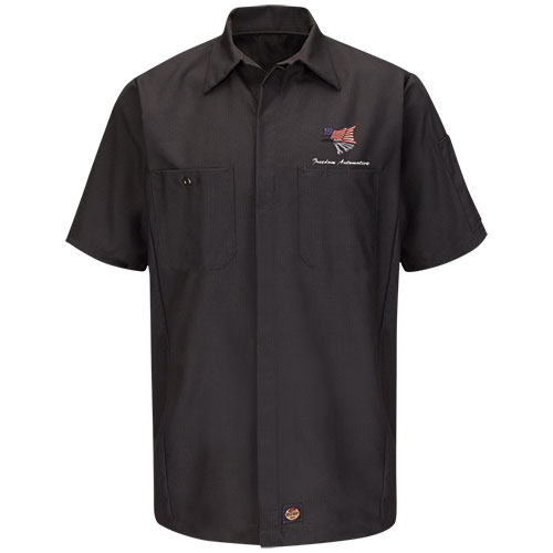 Redkap Work Shirt SS Solid Crew