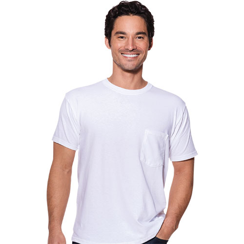 Port & Co USA Pocket T-Shirt