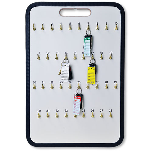 38-Hook Portable Key Storage Board