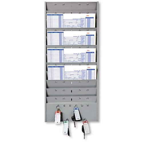 Repair Order Rack with Key Hooks