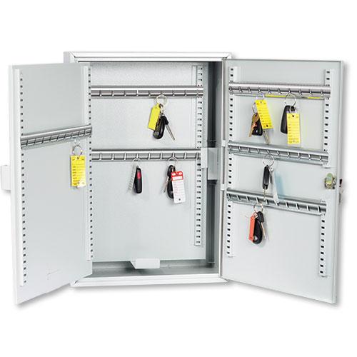 100 hook key cabinet