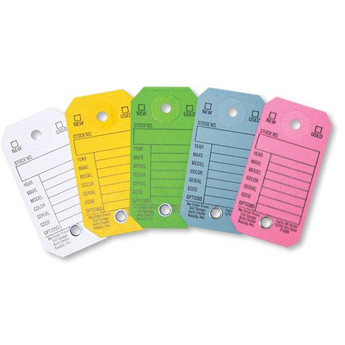 Pre-printed Cardboard Key Tags
