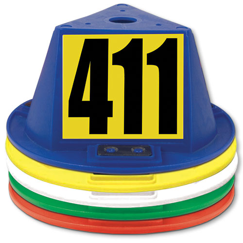 Magnetic Car Hat with Numbers