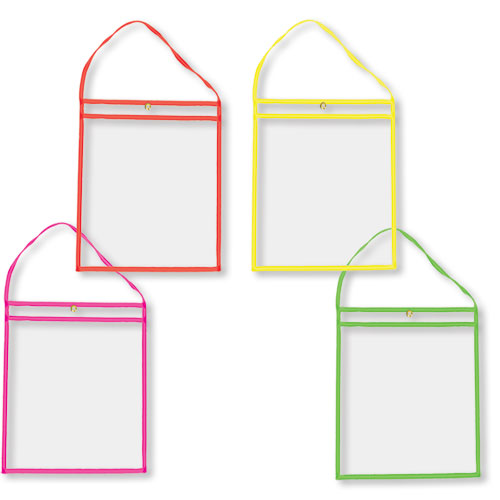 Colored Repair Order Holders with Handles