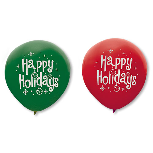 "16"" Holiday Outdoor Balloons"
