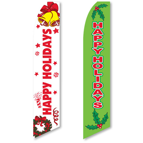 Holiday Visible Message Flags