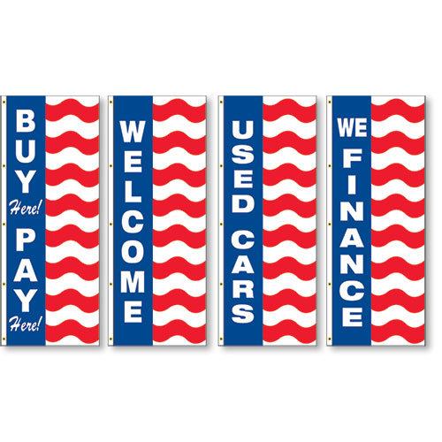 Uncle Sam Slogan Flags