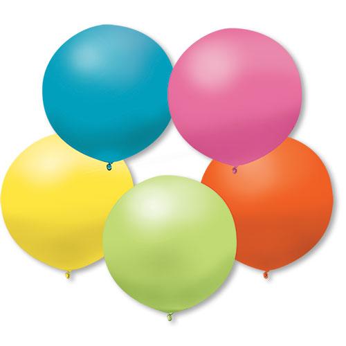 17Inch Pastel Premium Outdoor Balloons