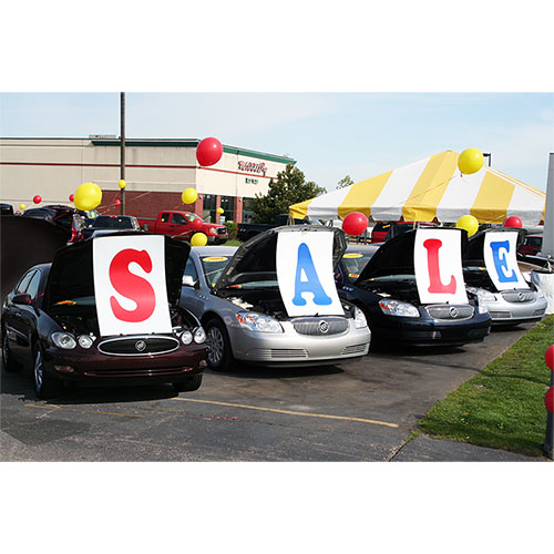 SALE Under the Hood Sign