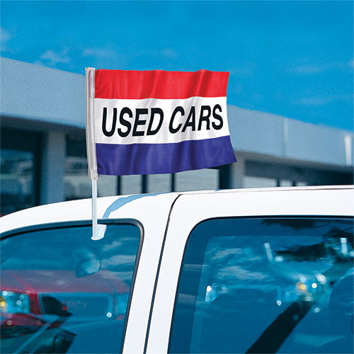 Used Cars - Economy Clip-On Flag Kit