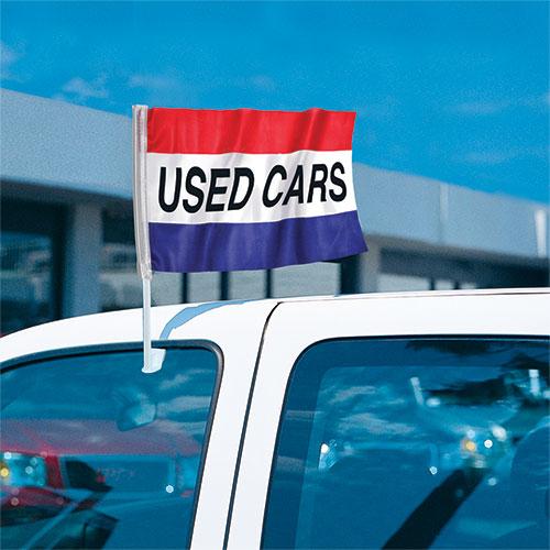 Used Cars - Economy Clip-On Flag Kit