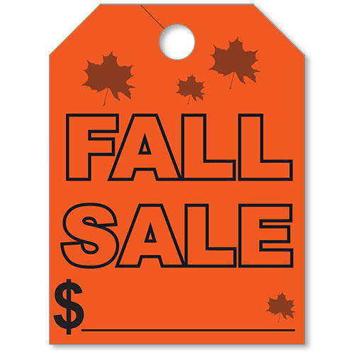 Fall Sale Mirror Tags