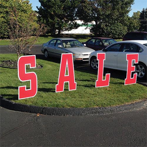 Sale Ground Sign Kit, Sale Signs, Car Dealer Signs