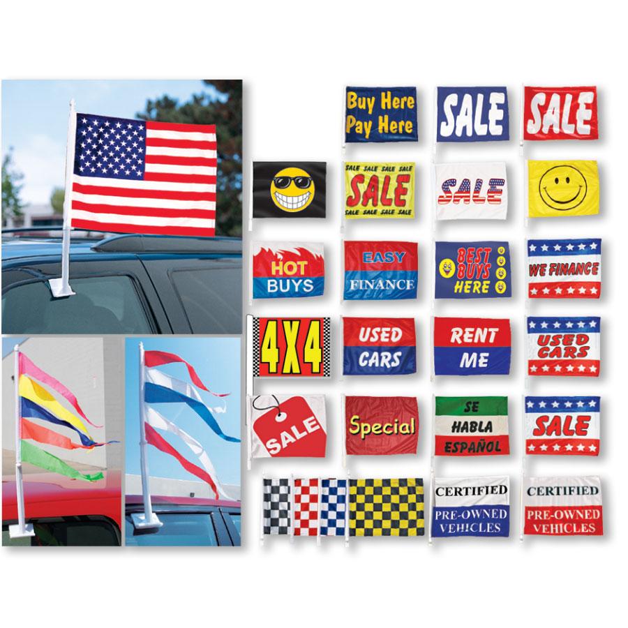 Car Dealer Flags Antenna Flags Antenna Pennants Dealership