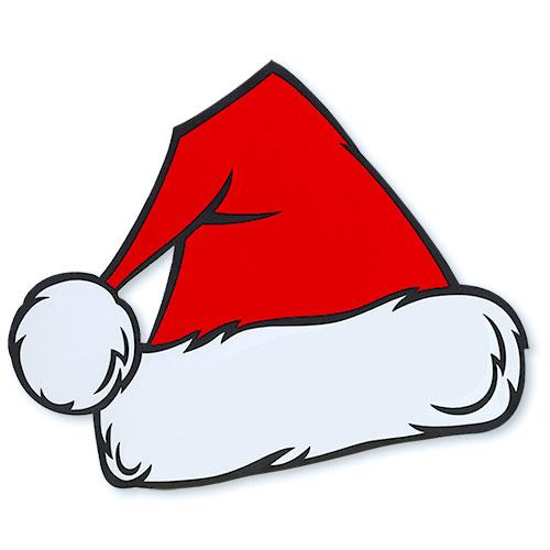 Car Dealer In Christmas Hats