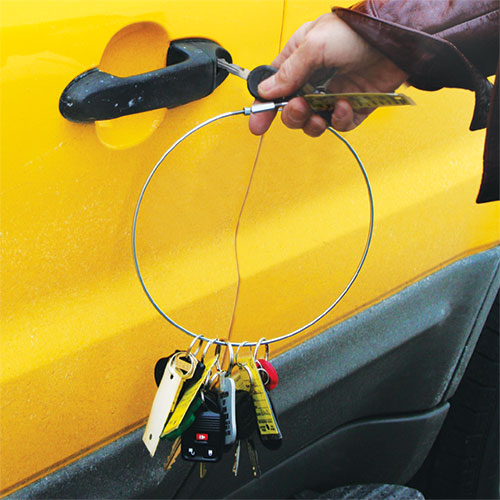 11 inch Jailer Key Ring