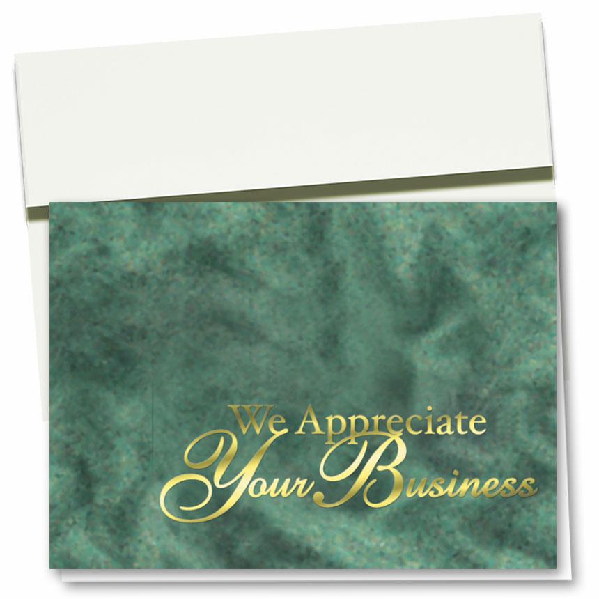 Foil Automotive Thank You Cards - Elegant Design II