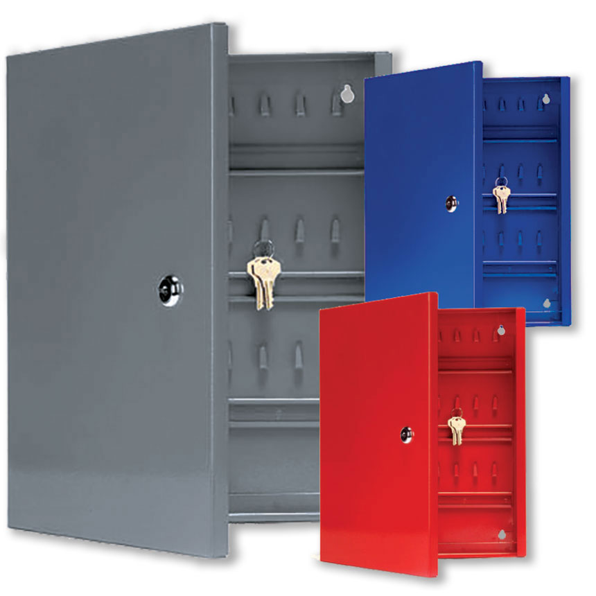 40-Hook Locking Key Storage Cabinet