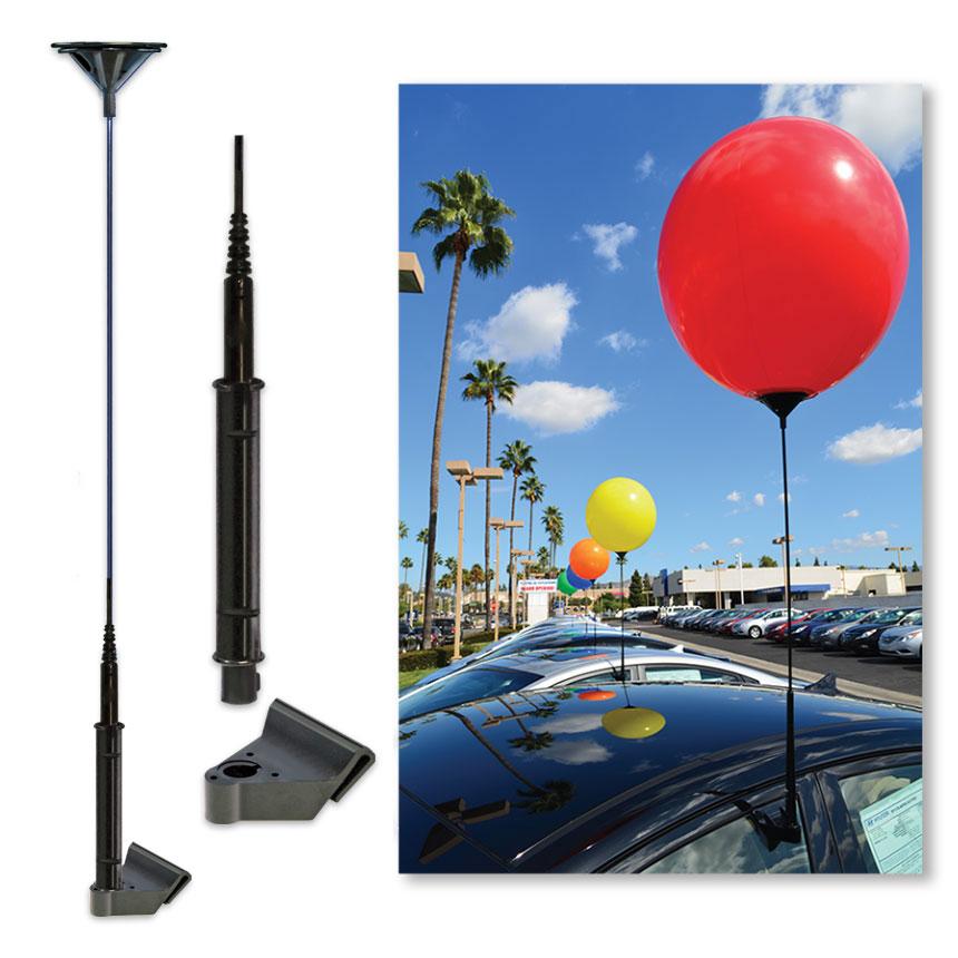 Window Bracket System for Reusable Balloon