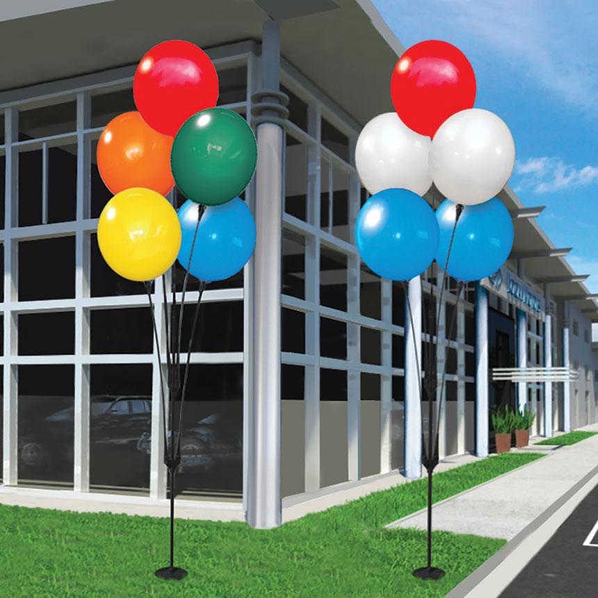 Reusable Balloon Clusters
