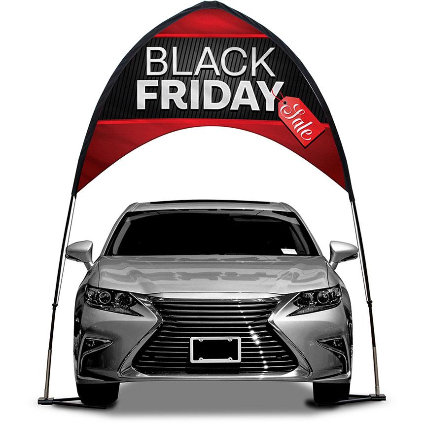 Arch Banner Kit - Black Friday