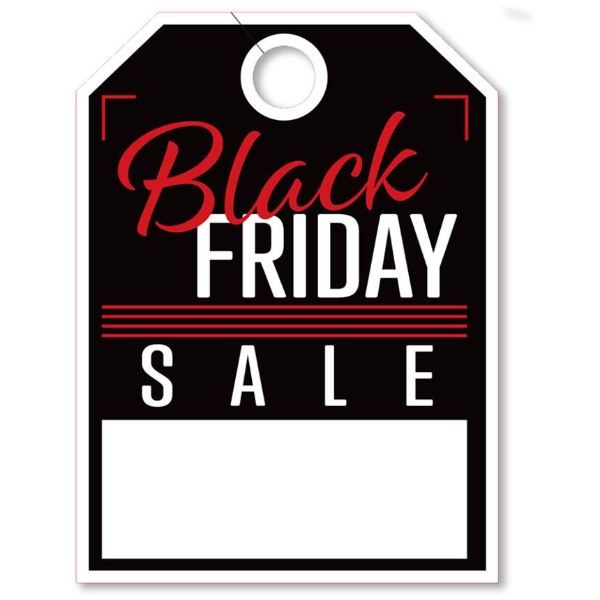 Black Friday Sale Mirror Hang Tag - 8.5 x 11.5 inch