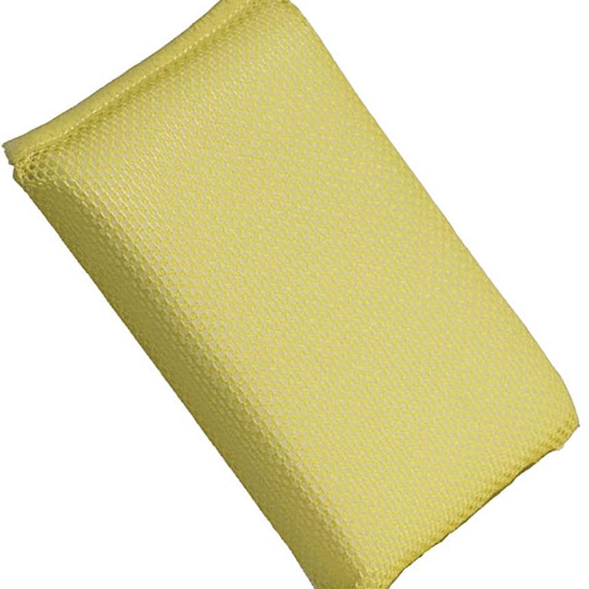 Buff & Shine Yellow Net Bug Sponge