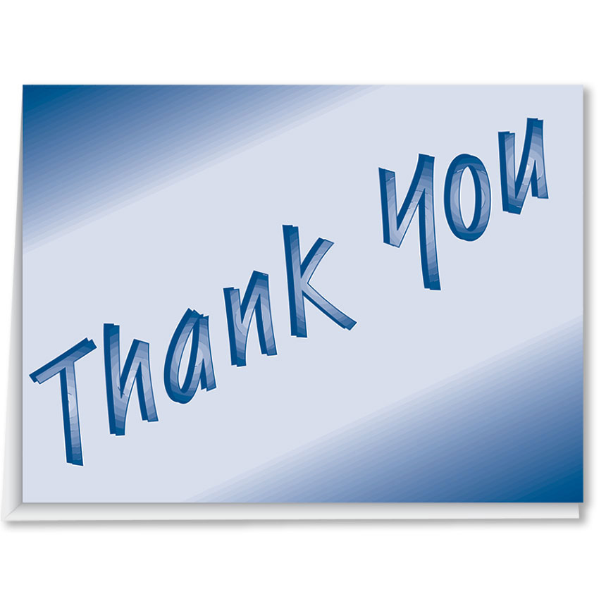 Auto Dealer Thank You Cards - Style 1