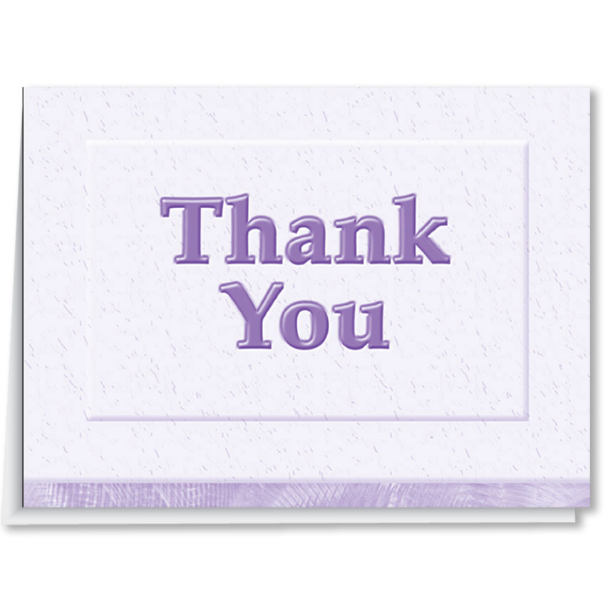 Auto Dealer Thank You Cards - Style 2
