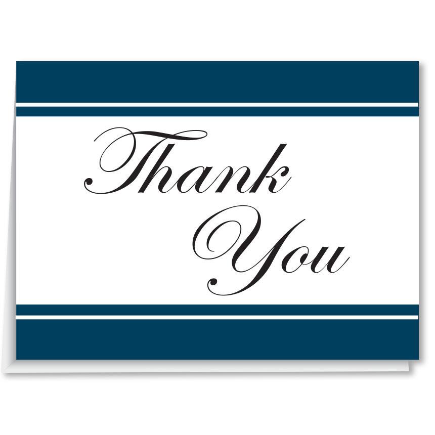 Blank Car Dealer Thank You Cards