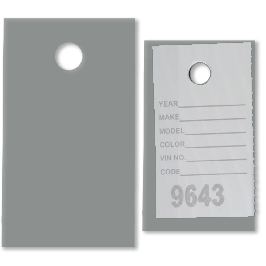 Plastic Covers for Stock Tickets
